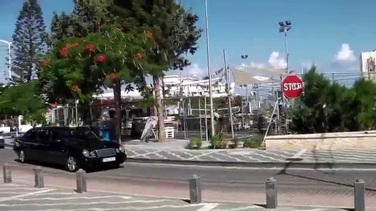 Shopping Street The Strip Protaras Cyprus  YouTube