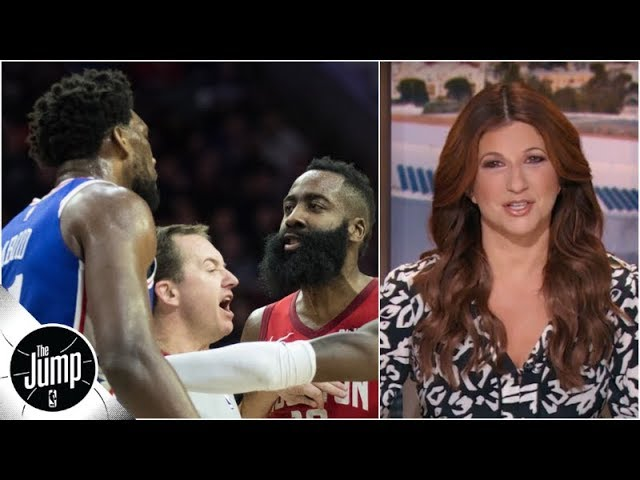 Joel Embiid trolling James Harden (and everyone else) makes the NBA a better place | The Jump