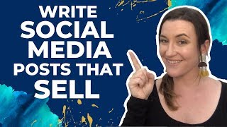 Social Media Copywriting Tips - Write social media posts that sell without sounding spammy