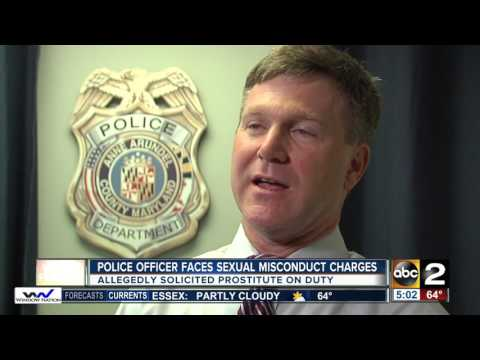 Anne Arundel County Police Officer faces sexual misconduct charges