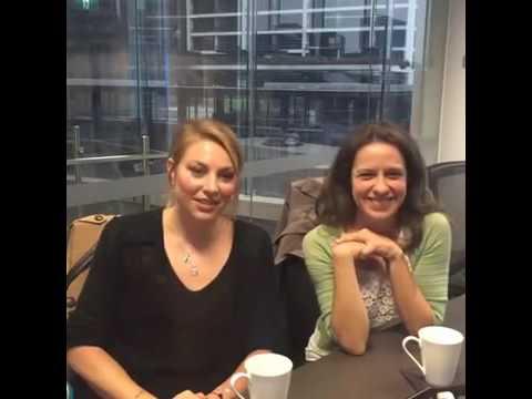 Kate Jenkinson Allie Novak & Kate Atkinson Vera Bennet Live QA  on Facebook