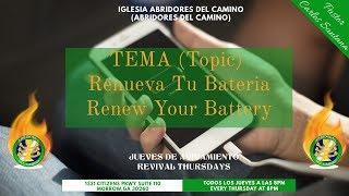 Abridores Del Camino - Renueva Tu Bateria (Pastor Carlos Santana)