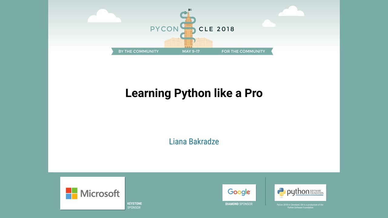 Image from Learning Python like a Pro