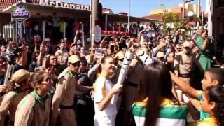الشعلة الاولمبية و17 يوم عن انطلاق اولمبياد ريودي جانيرو