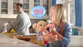 Toy Commercial 2014 - Baby Alive - My Baby All Gone - More Than 30 Phrases