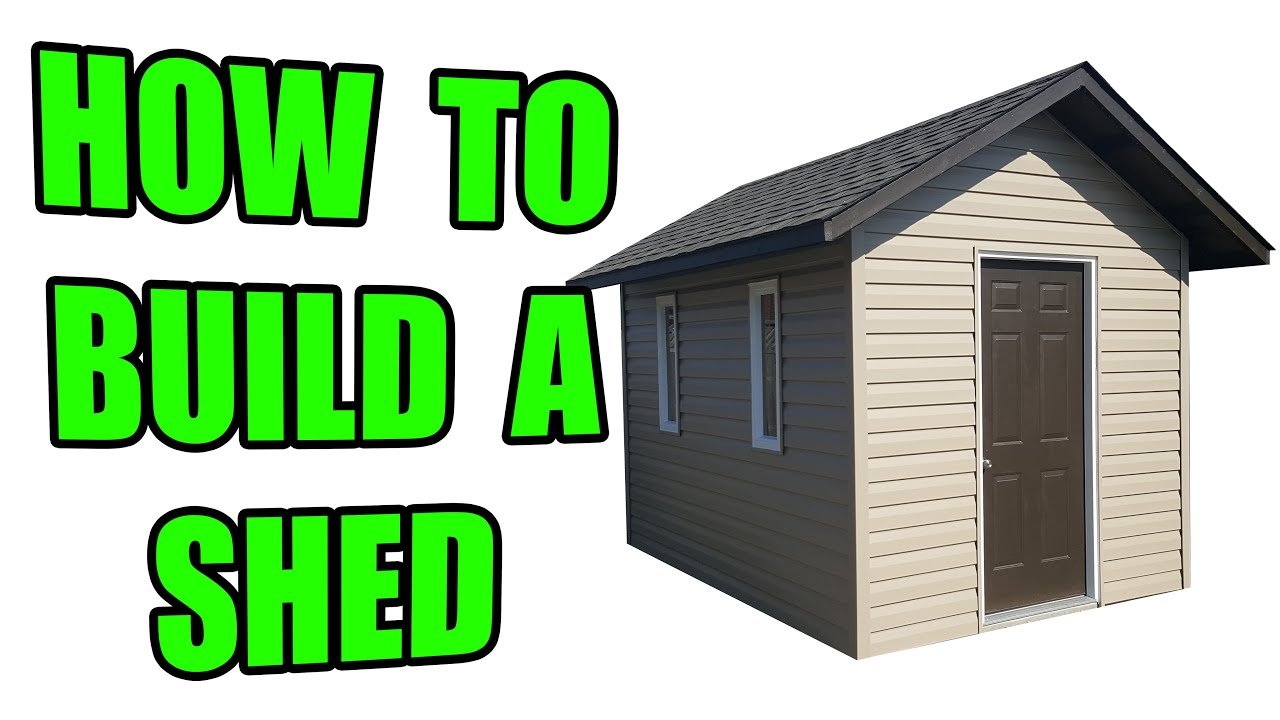 How to Build a Shed a Concrete Pad