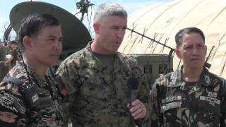 Typhoon Haiyan Recovery - The transition from U.S. service members to Armed Force of the Philippines