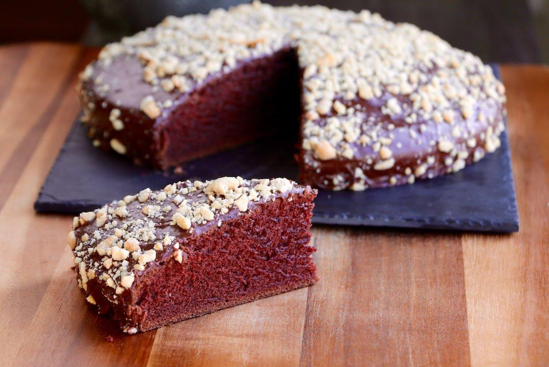 Vegan Chocolat Cake   The Buddhist Chef