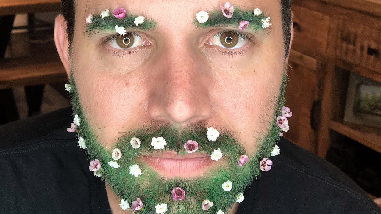 I TRIED THE NEWEST GARDEN BROW TREND (my Wife Made Me Do It)