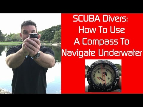 Underwater Navigation How To Use A SCUBA Compass