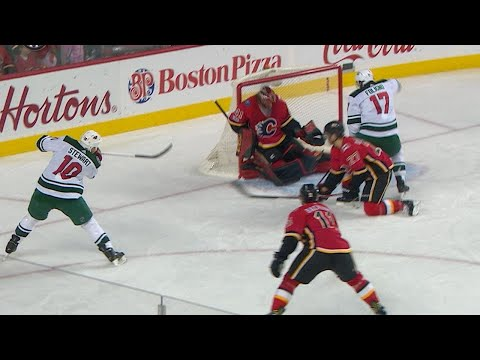 10/21/17 Condensed Game: Wild @ Flames