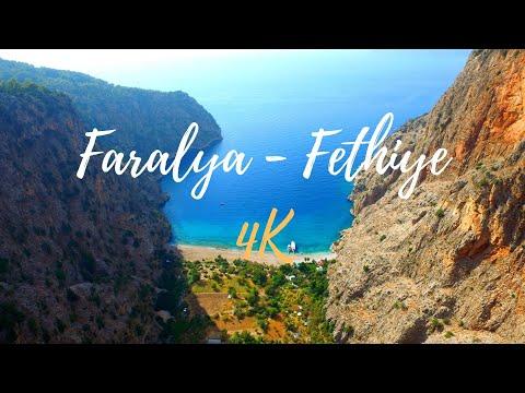 Faralya and Kayaköy drone footage [TURKEY] in 4K - 2017