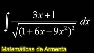 integracion por sustitucion trigonometrica ejemplo 53