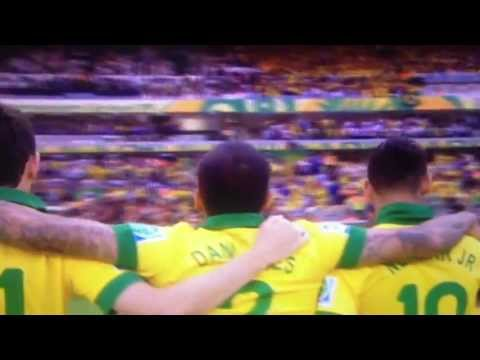 Brazil national anthem Confederations Cup