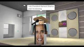 Roblox - Barrack Obama(s) visit Dunkin' Donuts