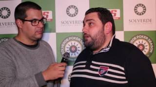 Carlos Ferreira Vence Main Event Etapa #13 Solverde Poker Season '16