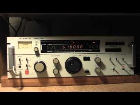 Radio Habana Cuba  Talking about  Hammarlund HQ-129 X