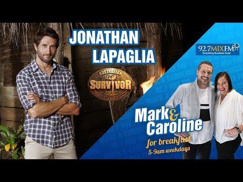 Jonathan Lapaglia From Australian Survivor