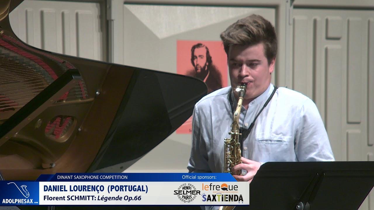 Daniel Lourenço (Portugal) - Legende Op 66 by Florent Schmitt (Dinant 2019)