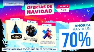 NUEVAS REBAJAS OFERTAS DE NAVIDAD RONDA 1/3 EN PLAYSTATION STORE PS4