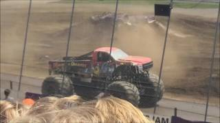 Monster Jam Stafford Springs, CT 2017 Sunday Afternoon: Donut Competition