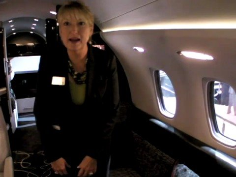 Cessna Citation Columbus 850, Interior Tour