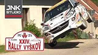 Rally Vyškov 2016 (crash & action)