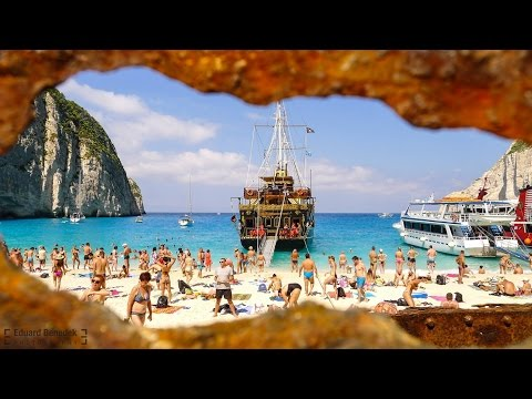 Zakynthos - Navagio Beach (Shipwreck) Greece 2016