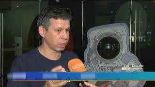 (Video) ¿OVNI sobrevolando en la ciudad de Medellín? [Noticias] - Telemedellín