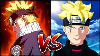 Мелкий Наруто против Боруто | Кто из них СИЛЬНЕЕ?! | Грандиозная БИТВА Naruto vs Boruto|