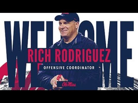 Football - Rich Rodriguez Press Conference (01-09-19)