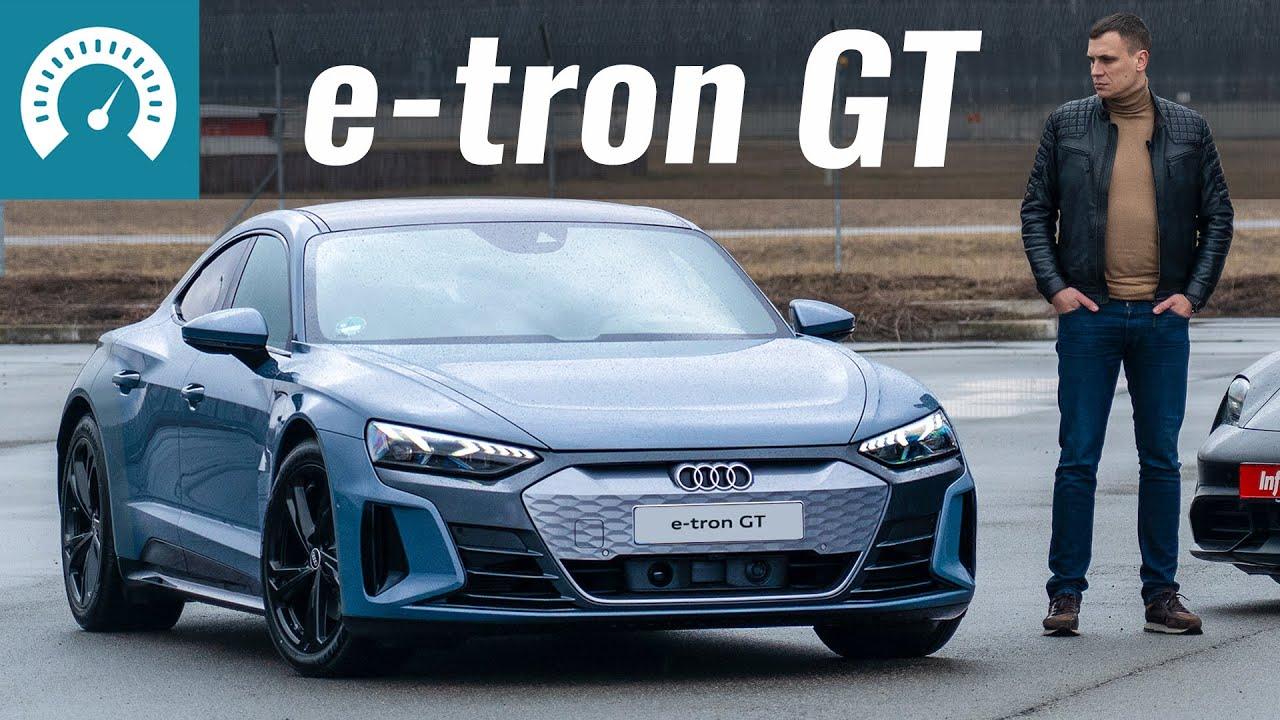 Новый AUDI e-tron GT. Tesla отдыхает?!