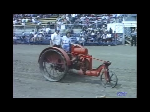 Midwest Old Threshers Reunion 1987 - Equipment Parade Part 1 - Internal Combustion & Draft Animals.