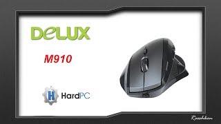 Delux M910 - Nietypowa ale świetna myszka bezprzewodowa
