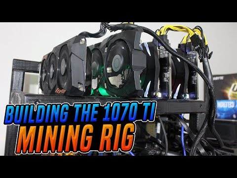 Building the 1070 ti mining rig 124 mhs ethereum