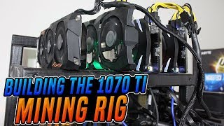 Building the 1070 ti mining rig 124 mhs ethereum Video