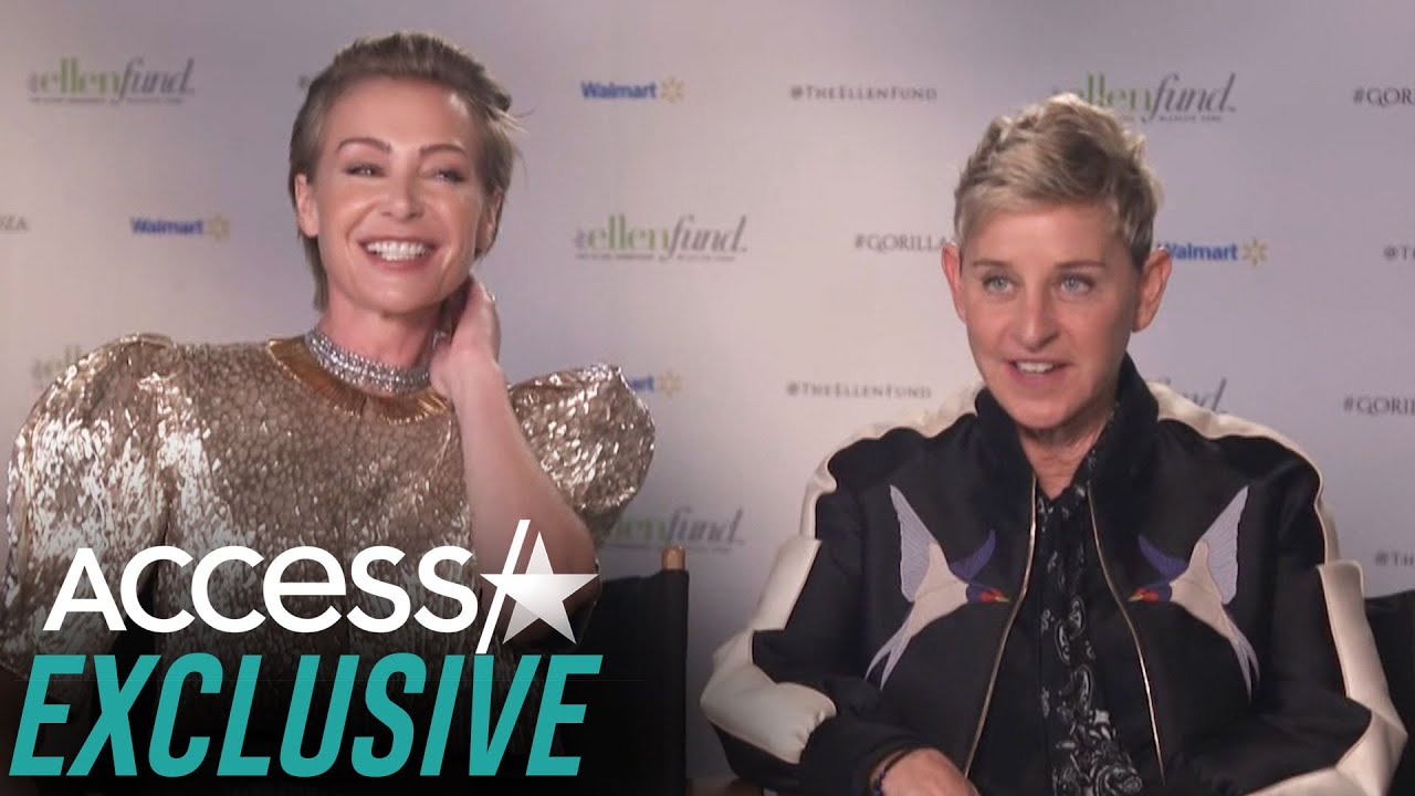 Ellen DeGeneres's Childhood Dream Was To 'Move To Africa' And 'Take Care Of Gorillas'