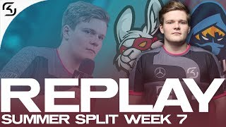 REPLAY: SK vs RGE and MSF | SK LEC WEEK 7