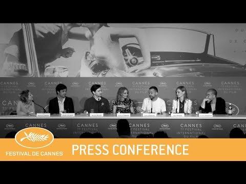 UN COUTEAU DANS LE COEUR - Cannes 2018 - Press Conference - EV