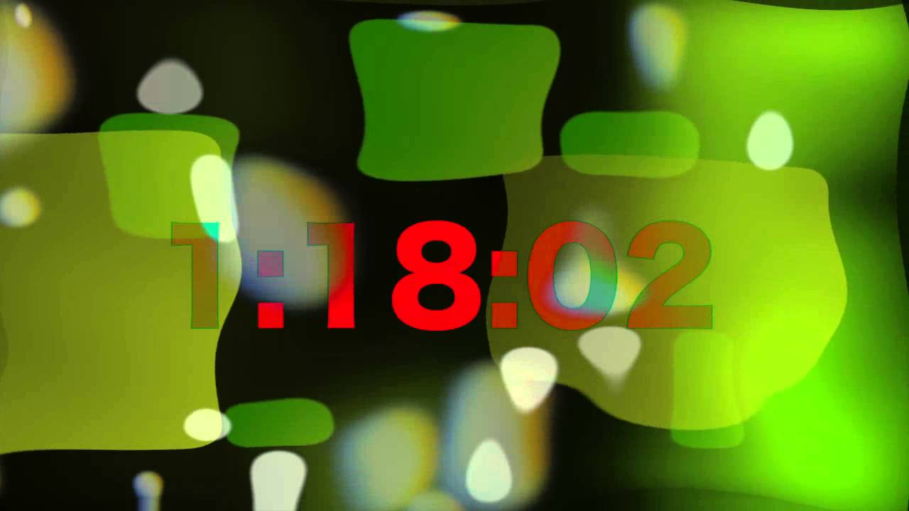 set 4 minute timer