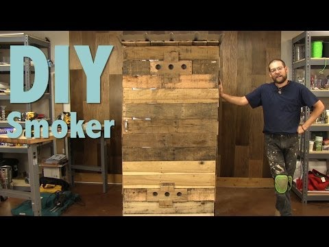 How to Build a Smokehouse With Pallets Part 1 of 3