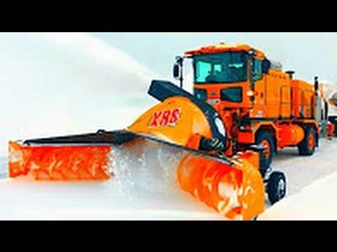 Машины по уборке снега. Машины монстры