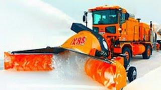 Машины по уборке снега  Машины монстры