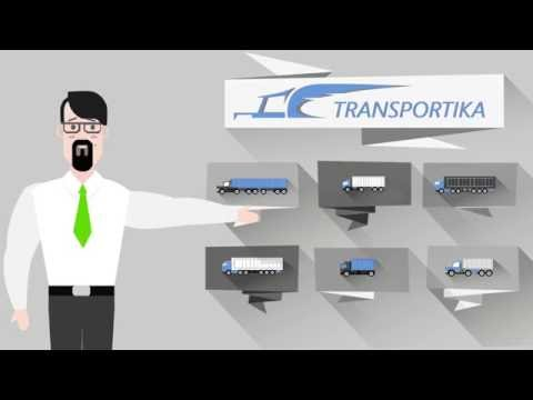 Грузоперевозки в 3 клика вместе с Transportika
