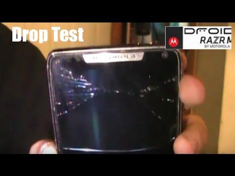 DROP TEST - DROID RAZR M