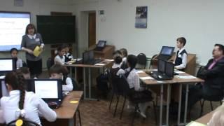 Урок развития речи в 4 классе