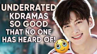12 Korean Dramas Gems That Are Mind-Blowingly UNDERRATED! [Ft. HappySqueak]