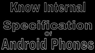 What are the Specifications of your Smartphone???[CPU-Z]