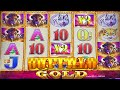 BUFFALO GOLD SLOT MACHINE BONUS BIG WIN Aristocrat Slots