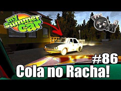 My Summer Car - RACHA COM O NOVO DOIDO! #86 (G27 mod)